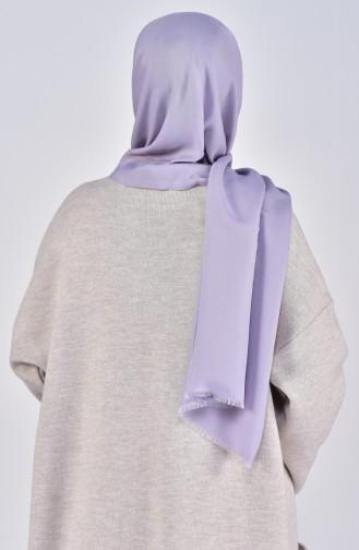 Plain Cotton Shawl 19045-04 Gray 19045-04