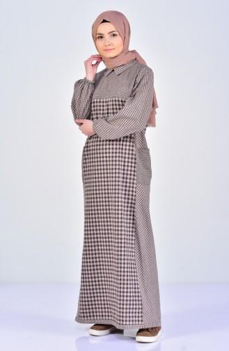 Brown Dress 2029-03