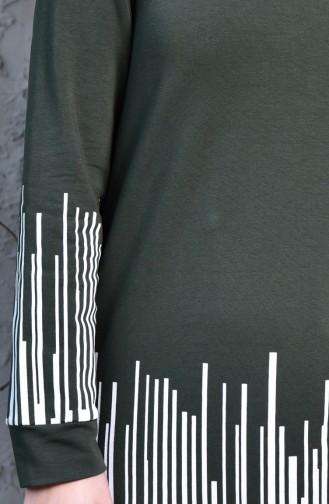 Dark Khaki Sweatsuit 0395A-02
