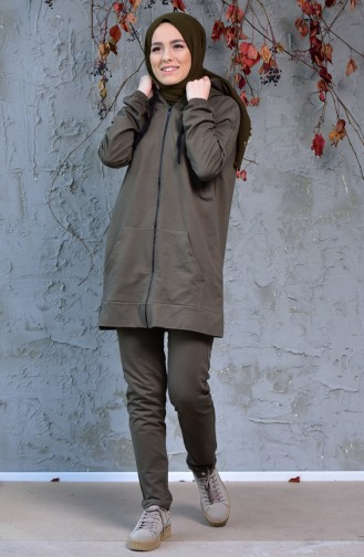 Khaki Sweatsuit 18108-06