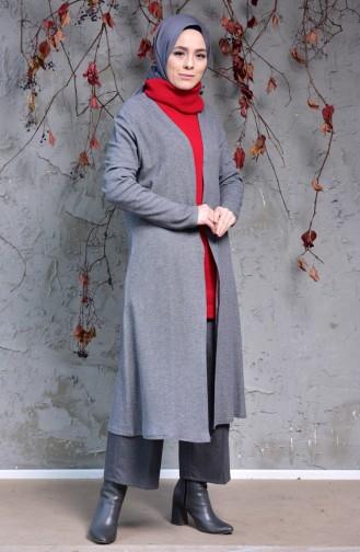 Knitwear Cardigan 7693B-01 Anthracite 7693B-01
