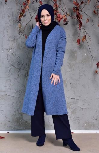 Knitwear Cardigan 7693C-01 Indigo 7693C-01