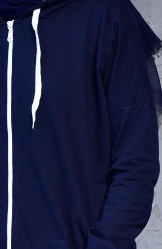 Navy Blue Sweatsuit 18108-02