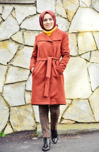 Pocketed Cachet Coat 5109-01 Tile 5109-01