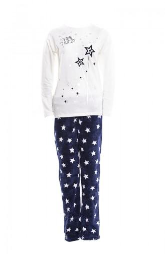 Bottom Women´s Pajamas Suit MAN9557-01 Light Beige 9557-01