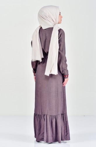 Brown Dress 2038-01