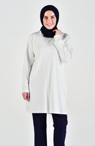 Plus size Combed Cotton Body 9001-02 White 9001-02