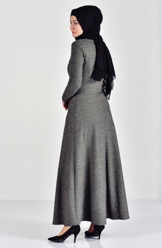 Khaki Dress 7128-06