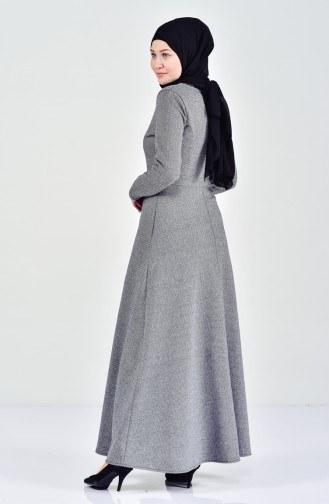 Dark gray Dress 7128-07