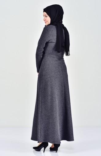 Anthracite Dress 7128-08