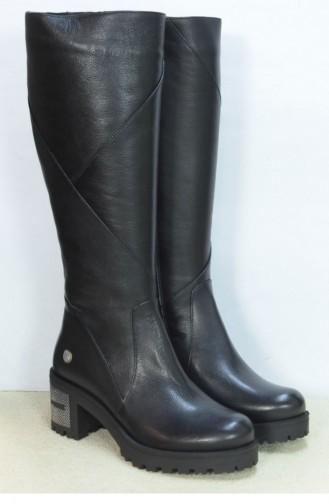 Marjin 2010 Flat Boots Black 18K020022MM2010_001