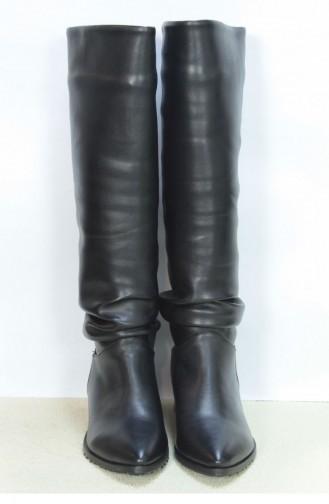 Marjin Kalire Flat Boot Black 18K00040IN578_001