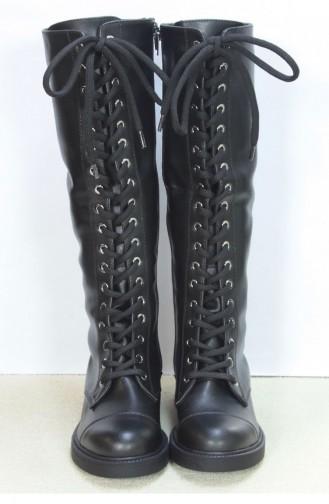 Marjin Nibel Flat Boots Black 18K00028LF125_001