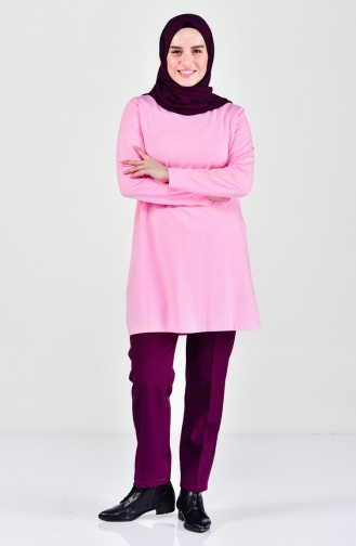 Plus size Combed Cotton Body 9001-04 Pink 9001-04