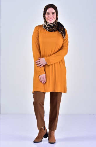Plus size Combed Cotton Body 9001-09 Mustard 9001-09