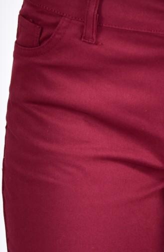 Claret red Broek 8868-06