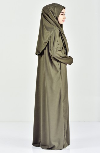 Practical Prayer Abaya 0905-02 khaki 0905-02