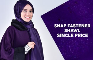 Single Price for Snap fastener Shawls