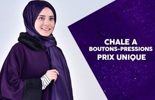Châle a Boutons-Pressions Prix Unique