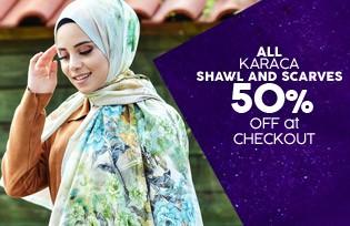 Karaca Shawl & Scarf Models