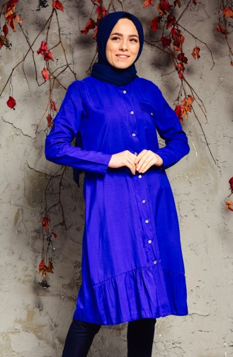 Buglem  Pocket Detailed Tunic 1174-05 Saks 1174-05