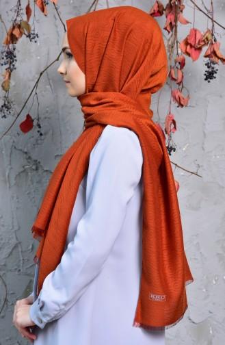 Karaca Capri Plain Shawl 90551-08 Tile 90551-08