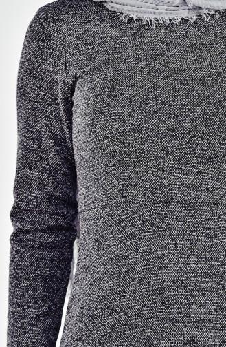 Kuplu Elbise 0001-03 Lacivert