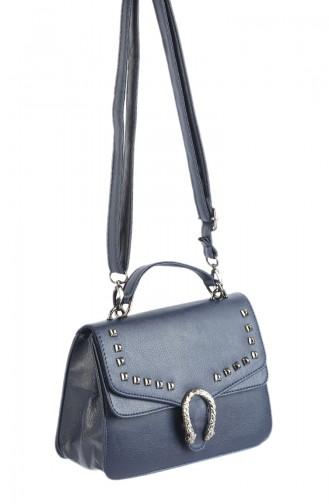 حقيبة كتف أزرق كحلي 42611-02