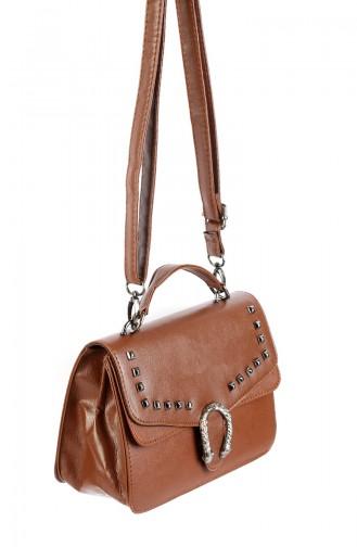 Tobacco Brown Shoulder Bag 42611-04