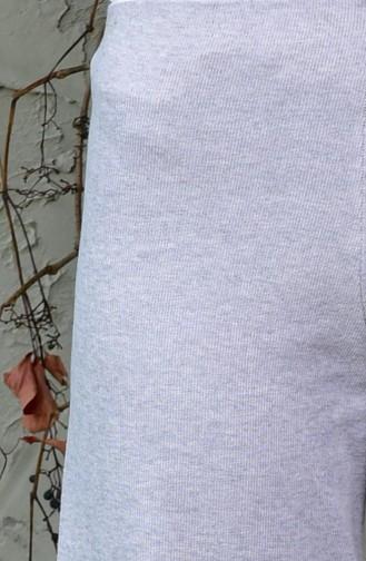 Knitwear Trousers 8013-04 Gray 8013-04