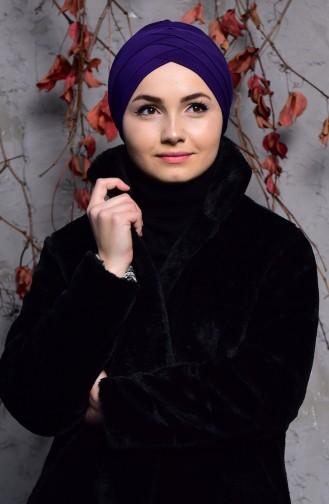 Bonnet Sandy Trois Bandes 9004-07 Pourpre 9004-07