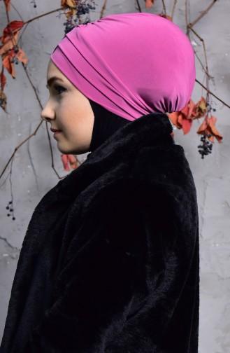 Bonnet Sandy Trois Bandes 9004-09 Lila Foncé 9004-09