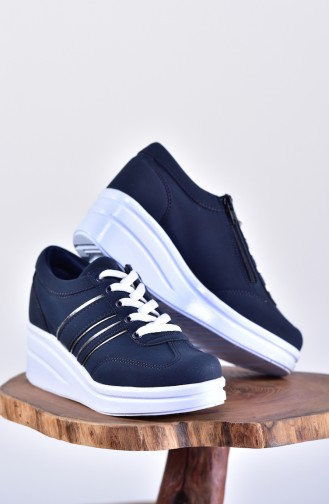 Navy Blue Sport Shoes 0101-08