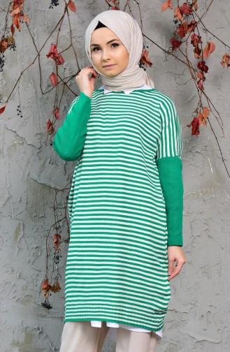 Green Sweater 4703-01