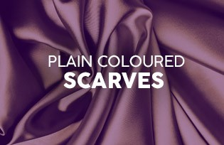 Plain Colourful Scarves