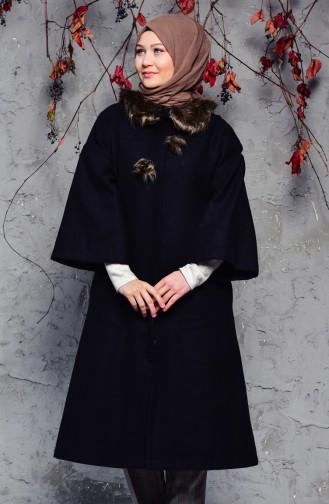 Black Long Coat 5412-01