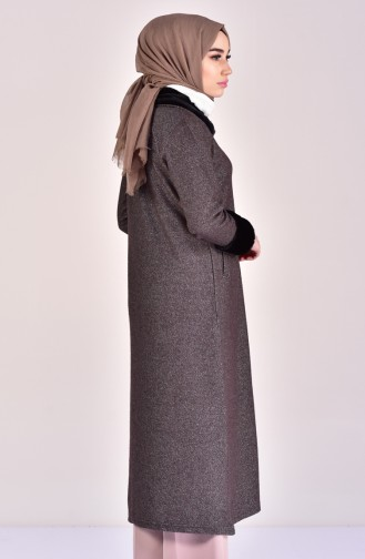 Furry Winter Cape 99172-01 Brown 99172-01