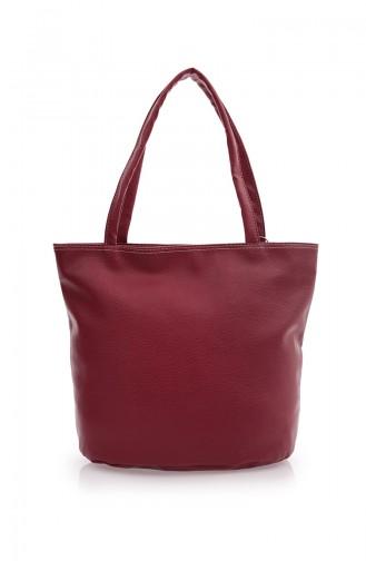 Claret red Shoulder Bag 02Z-01