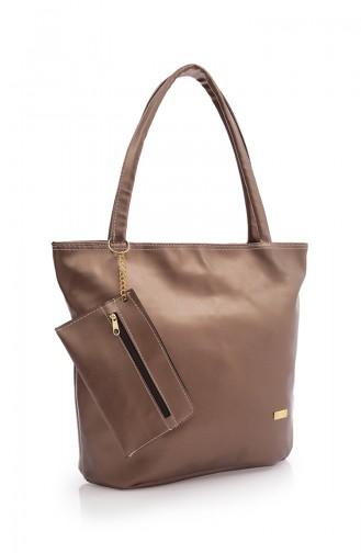 Stilgo Women´s Shoulder Bag AK02Z-04 Copper 02Z-04