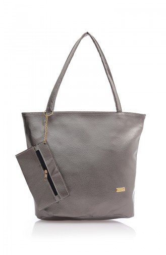 Stilgo Women´s Shoulder Bag Ak02Z-05 Silver 02Z-05