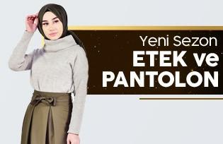 En Yeni Etek ve Pantolon Modelleri
