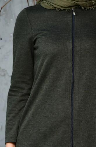 Cape mit Reißverschluss 7315-03 Khaki 7315-03