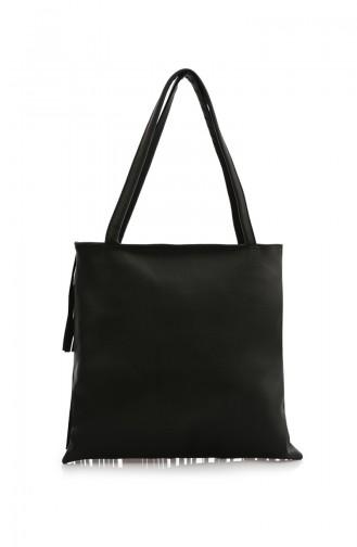 Stilgo Women s Shoulder Bag Ak04Z-02 Black 04Z-02