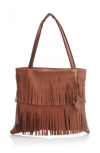 Tobacco Brown Shoulder Bag 04Z-03