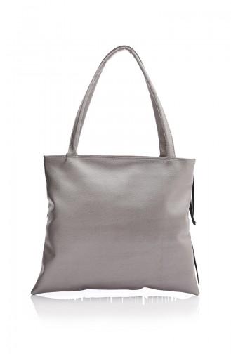 Silver Shoulder Bag 04Z-04