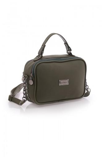 Stilgo Women s Shoulder Bag Cn19Z-01 Khaki 19Z-01