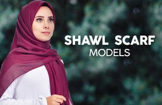 Shawl Scarf Models