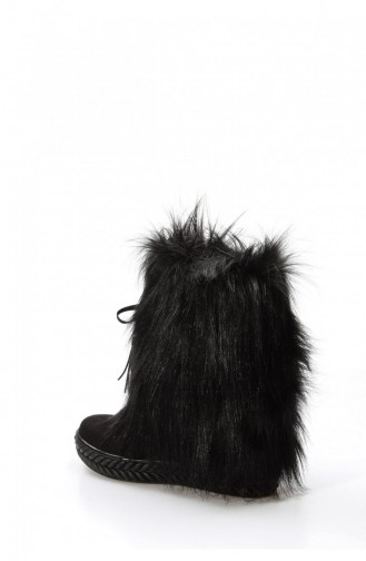 Fast Step Suede Boots 629Szs3018006 Black 629SZS301-8006-16777285