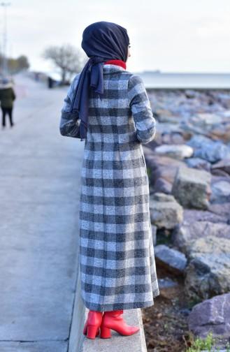 Checkered Cachet Coat 0250-01 Gray Smoked 0250-01