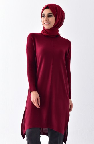Claret red Sweater 3834-09